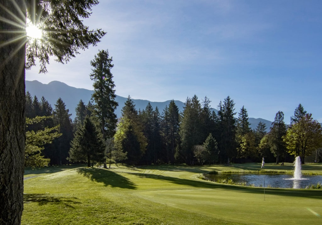 cultus lake golf course
