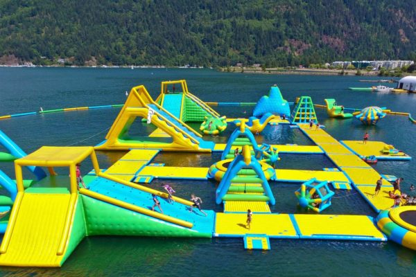 harrison hot springs water sports park