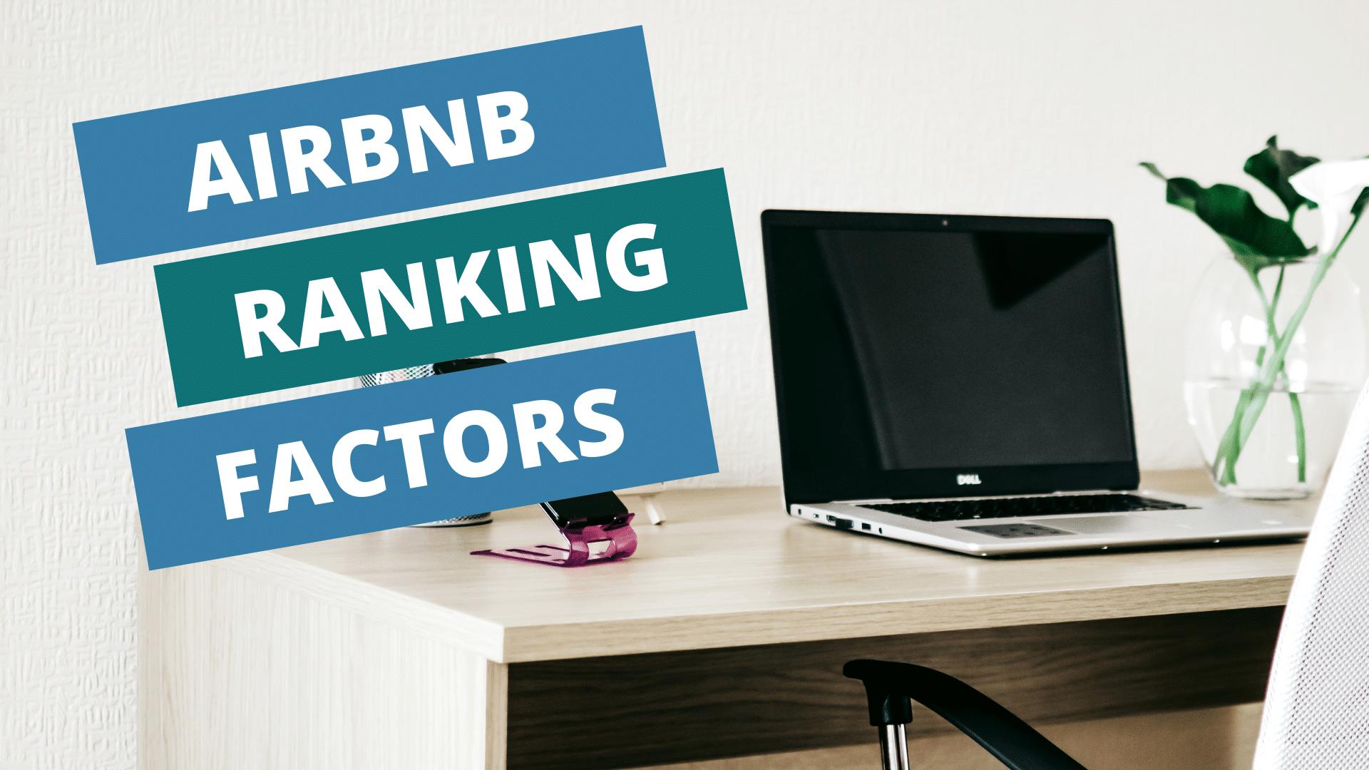 airbnb ranking factors laptop