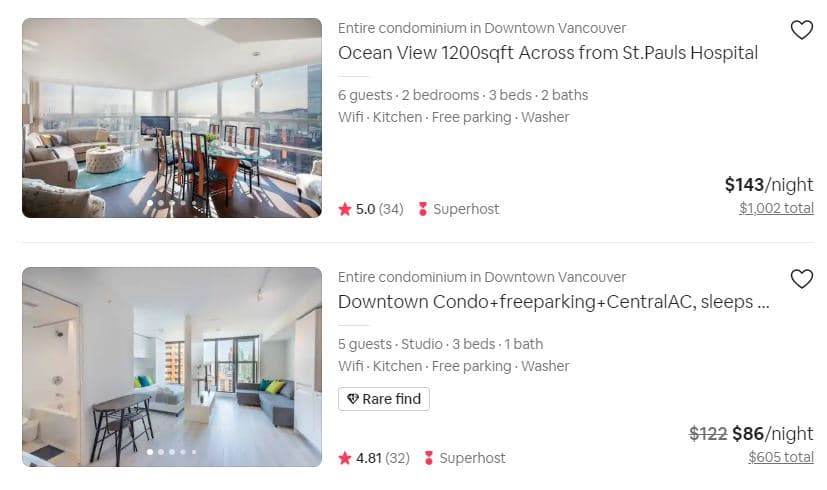 high quality photos for airbnb seo
