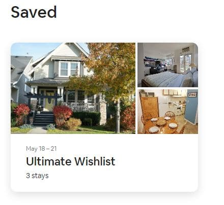 airbnb wishlist for seo boost