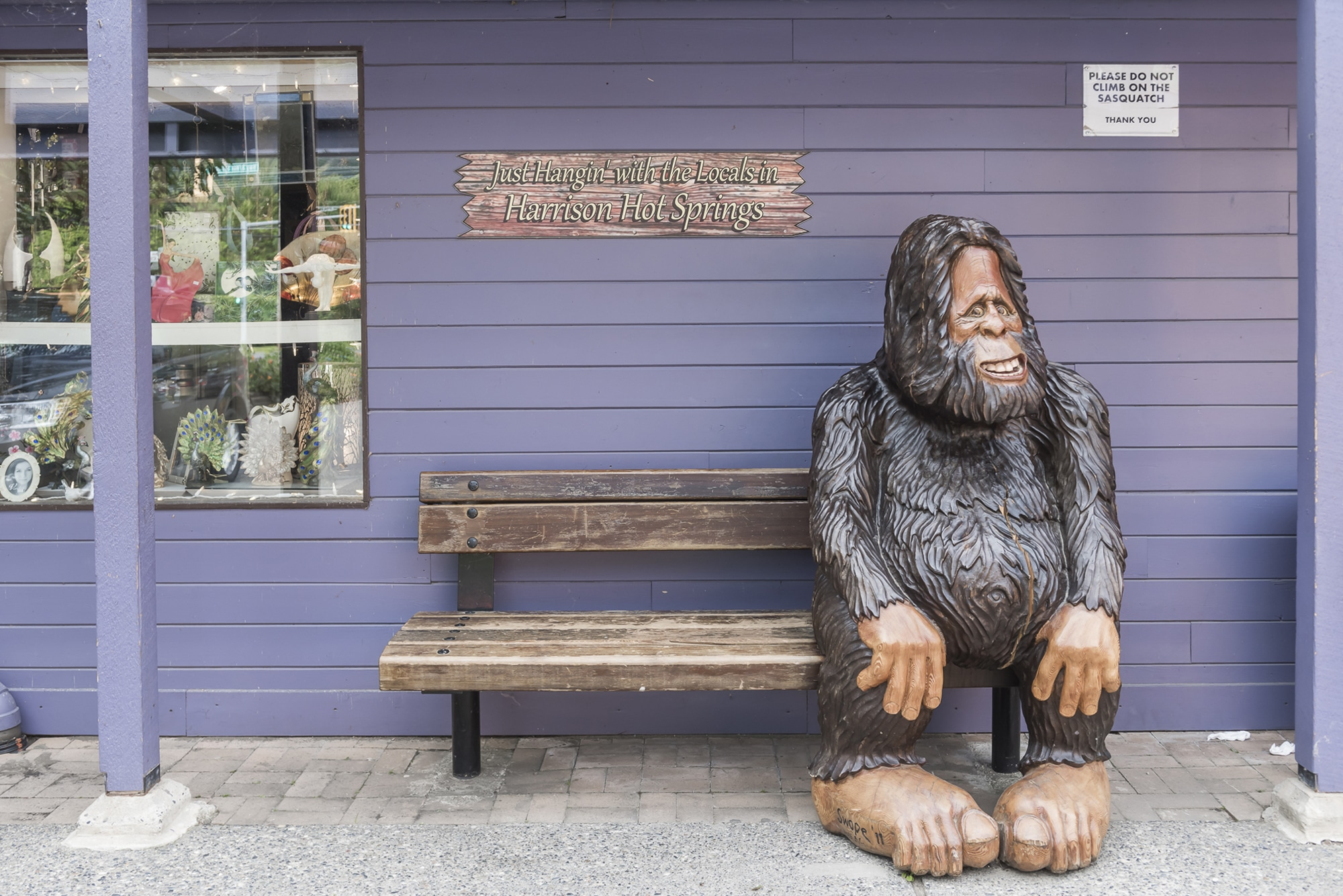 Harrison Hot Springs Sasquatch