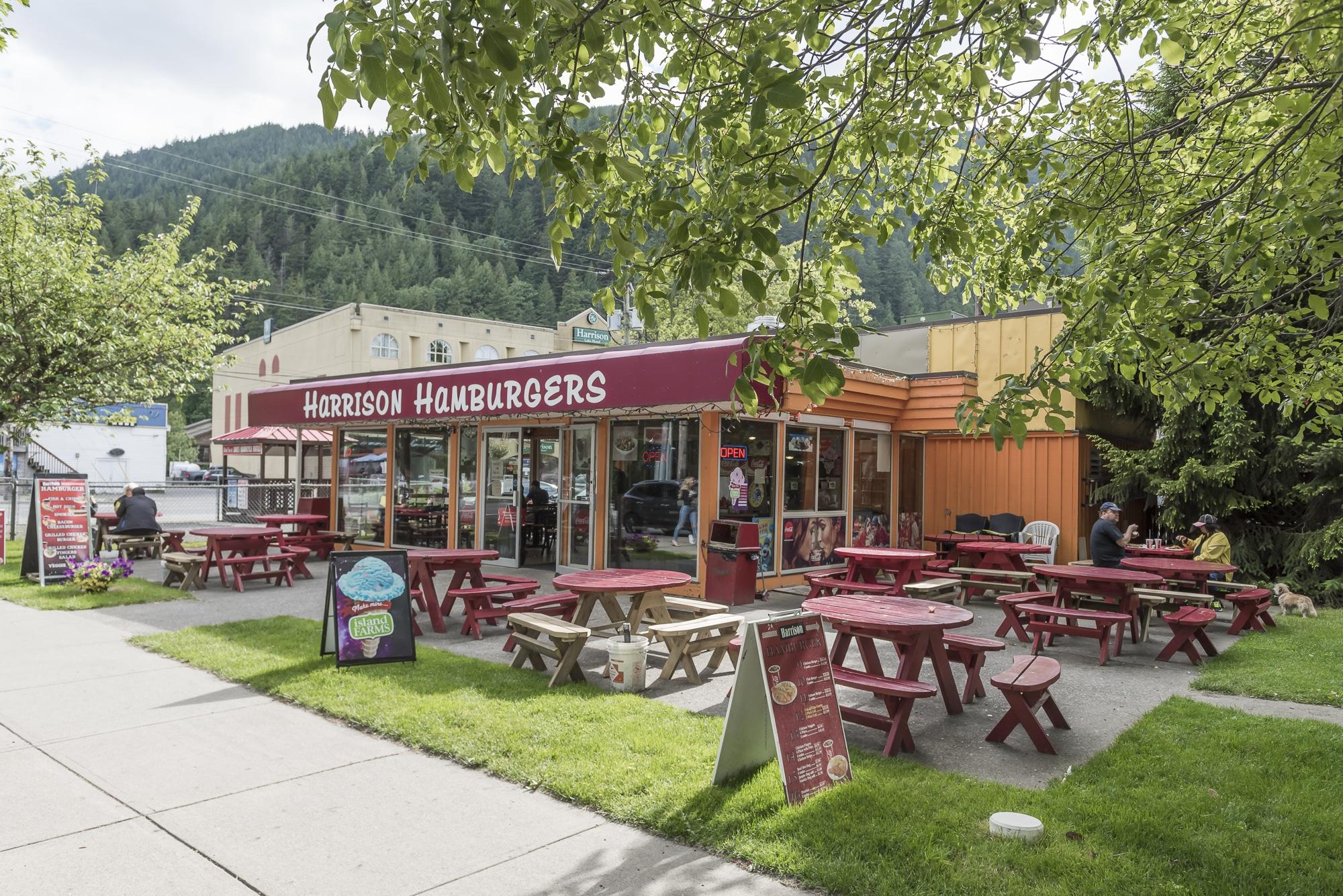 Harrison Hot Springs Burgers