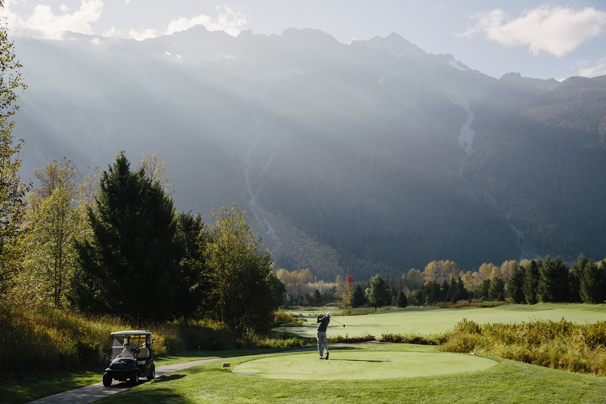 Golf in Whistler