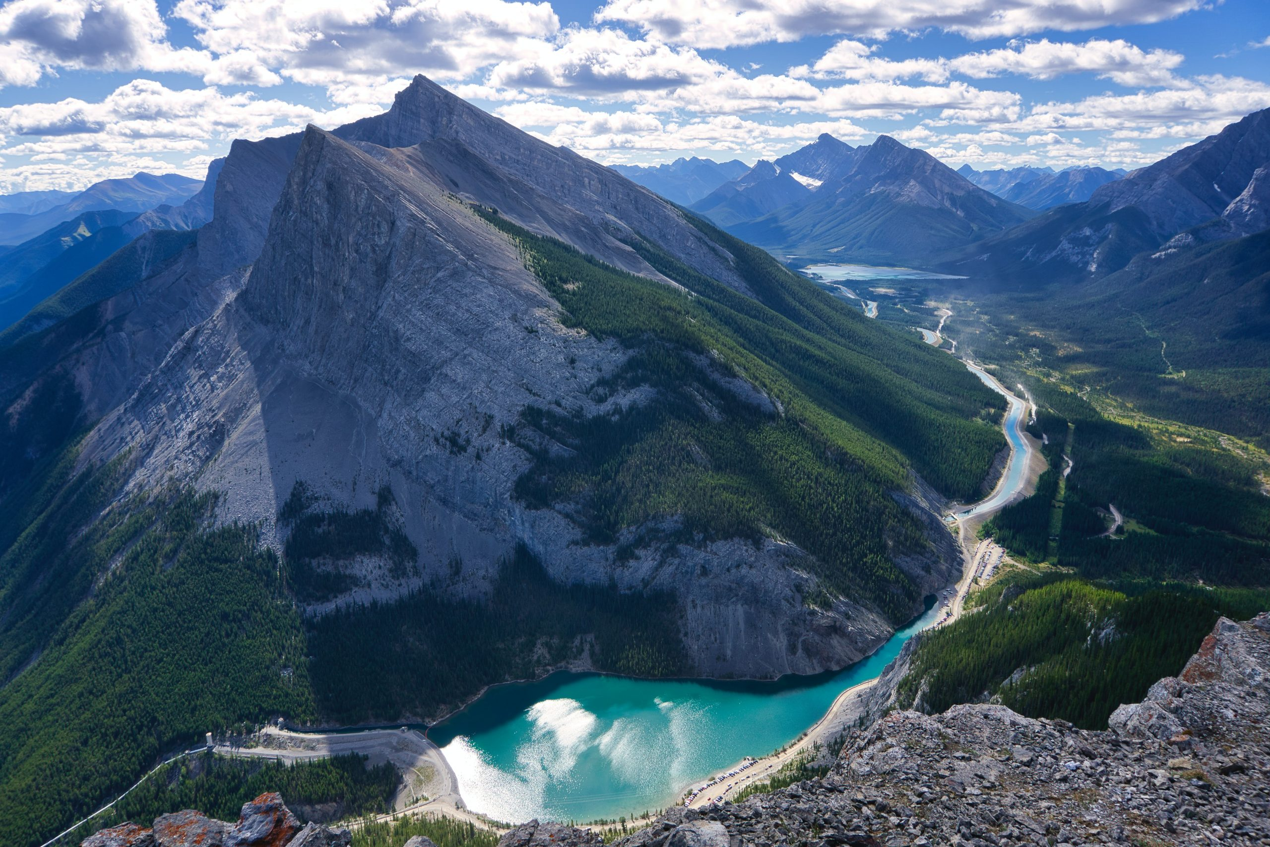 canmore mountain view